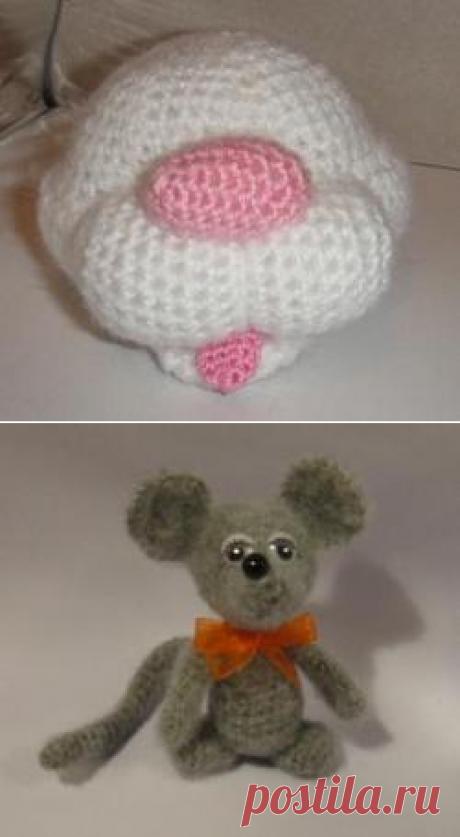 Кошки-мышки от Irinadas - МК по вязанию игрушек - Форум почитателей амигуруми (вязаной игрушки)