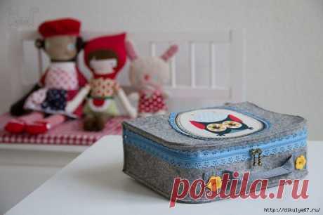 Мастер-класс по шитью детского чемоданчика для мелочей