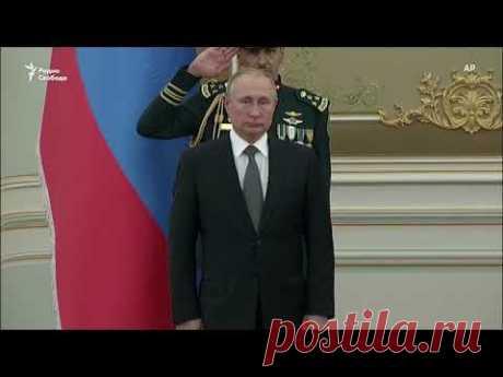 В Саудовской Аравии Путина встречали музыкой