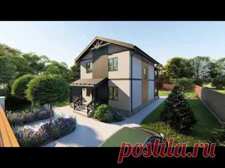 Дом под ключ с отделкой и ландшафтным дизайном