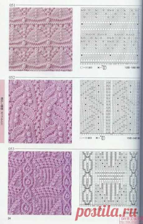 японские ажуры№2 | Needlework - Stitches