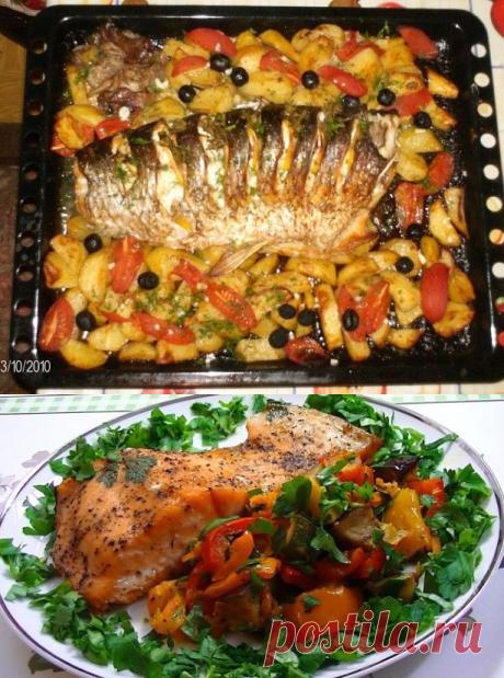 Рыба в духовке - 3 лучших рецепта и пара полезных советов