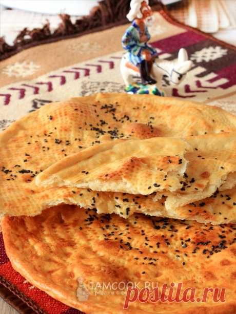 Ташкентские лепешки «Лочира» — рецепт с фото пошагово