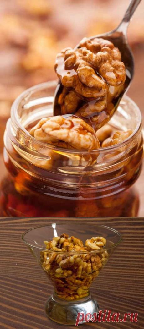 Ореховый доктор: орех и мед здоровье спасет!