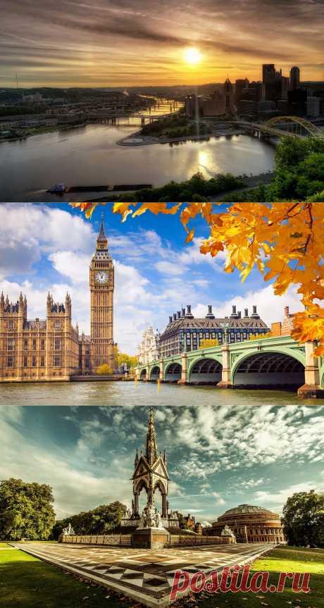 Фото крупных городов мира