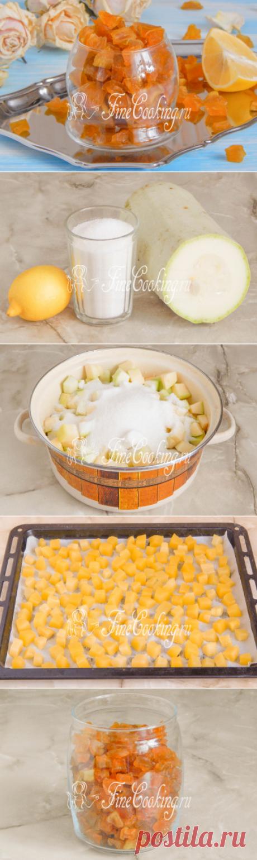 Цукаты из кабачка - рецепт с фото