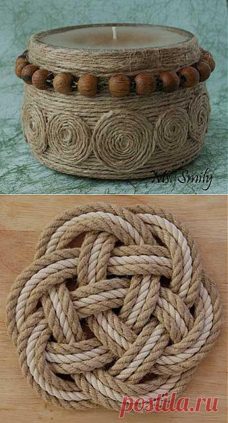 Верёвочный декор - Лавка мастеров