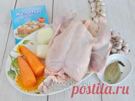 Холодец из курицы в мультиварке — рецепт с фото пошагово
