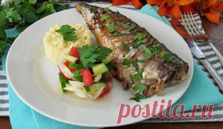 Жареная скумбрия по-новому: превосходная рыба в пикантном маринаде - Четыре вкуса - медиаплатформа МирТесен