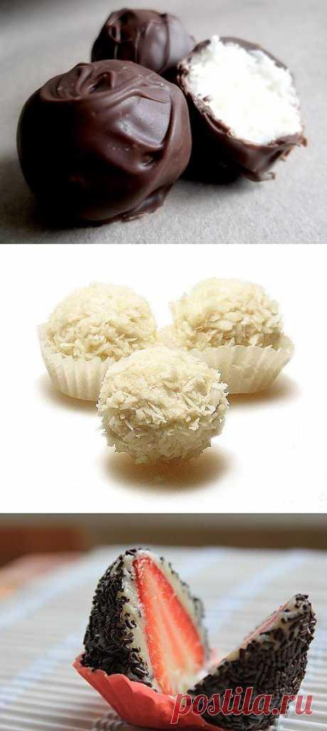13 супер рецептов домашних конфет..