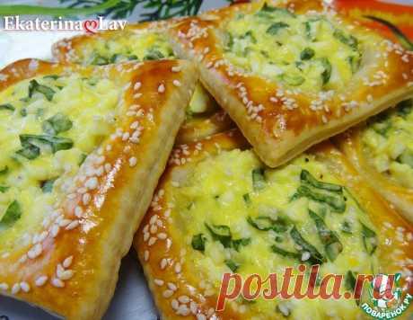 """Пирожки """"Минутки"""" с яйцом и луком – кулинарный рецепт"""