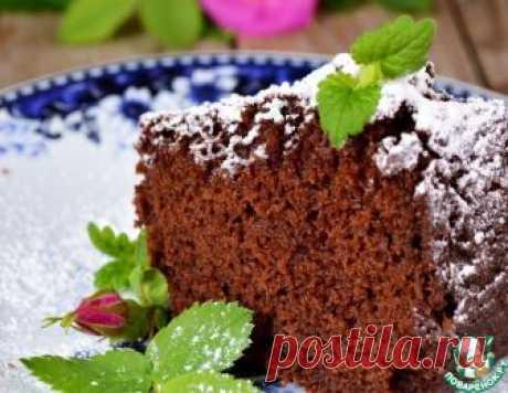 Постный шоколадный кекс - кулинарный рецепт