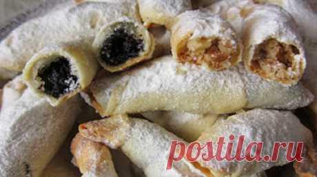Обалденные рогалики — тончайшее, хрустящее тесто и много сладкой вкусной начинки! — lovecook.me