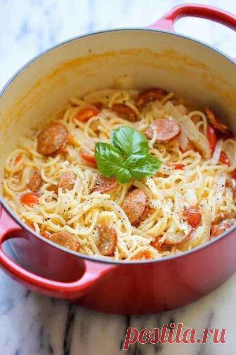 Супер-спагетти — Sloosh – кулинарные рецепты