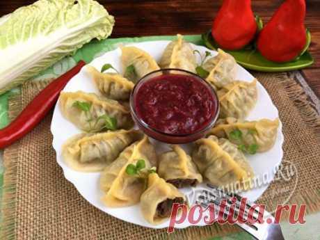 Как приготовить момо тибетские пельмени, рецепт с фото