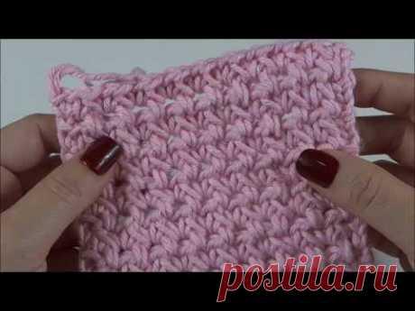 Ponto de Crochê  fácil e rápido para base de Tapete