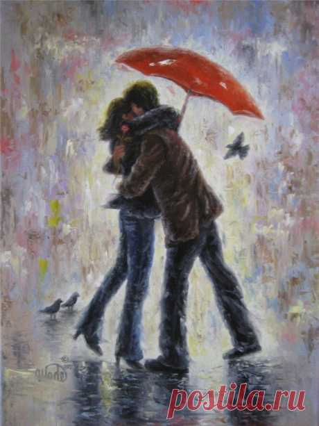 А вы давно гуляли под дождём?.