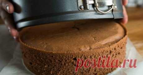 Опытные хозяйки выпекают бисквит по такой технологии: отделяем белки и желтки… Корж «послушный»: хорошо разрезается на нужное количество.