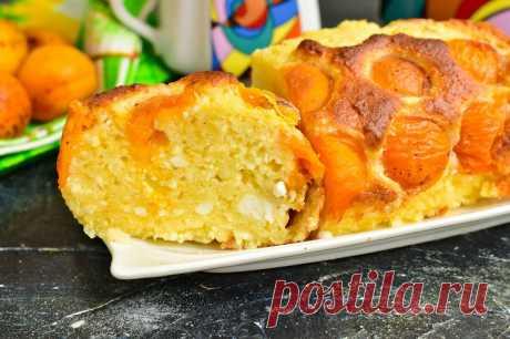 Творожная запеканка с абрикосами в духовке: рецепт с фото пошагово