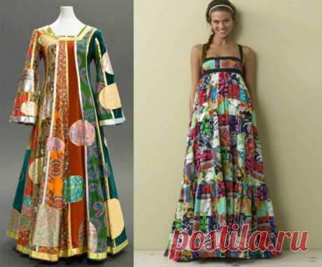 Русский стиль в одежде - богатство и роскошь русских традиций - Искусный мастер