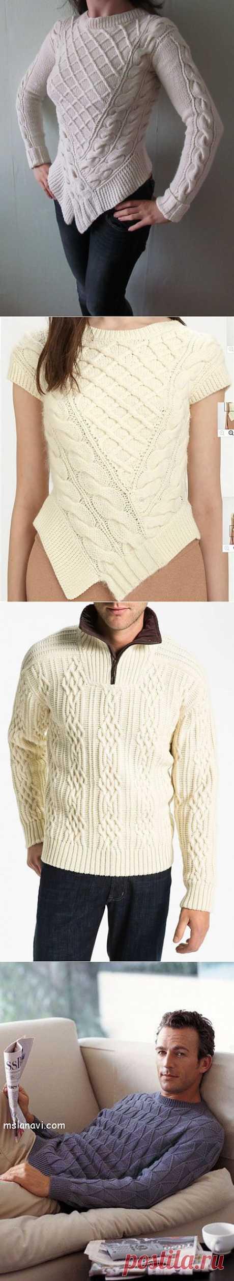 (+1) тема - Собрала зима багаж (вязание спицами) | РУКОДЕЛИЕ