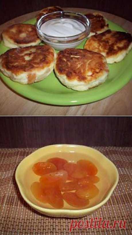 Сырники с курагой - рецепты с фото