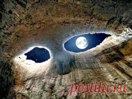 """""""Глаза Бога"""", Пещера Проходна, Болгария ..."""