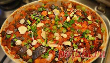 Баклажаны с фаршем по-турецки - блюдо, которое сразу станет фаворитом вашей  семьи! | Четыре вкуса