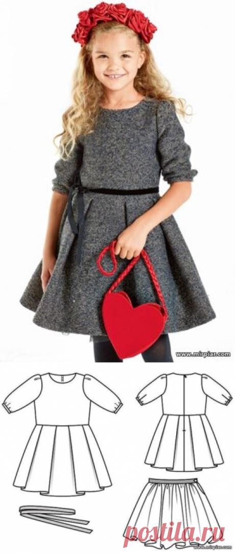 free pattern, ПЛАТЬЯ, детская одежда, детские выкройки, pattern sewing, детские платья, готовые выкройки бесплатно, выкройка, выкройки скачать, выкройки платьев, выкройки бесплатно