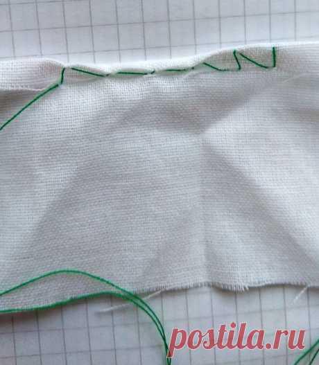 Обработка края шелкового платка – Ярмарка Мастеров