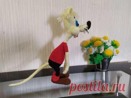 """Мышонок Митя из из """"Кот Леопольд"""", ч.4. Little mouse Mitya from """"Cat Leopold"""", р.4."""