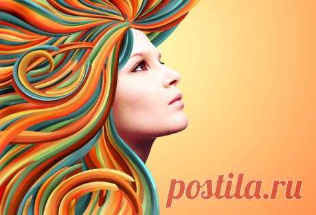 Украшаем портрет с помощью векторных форм в Photoshop