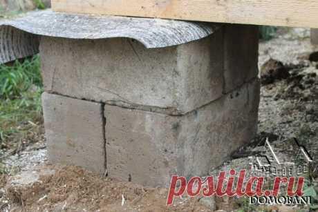 Какой фундамент сделать под бытовку - Блог о строительстве