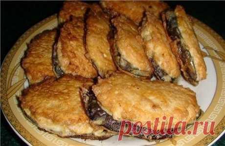 """Жареные баклажаны """"под мясом"""". Просто и вкусно! Оригинальный рецепт """"Сеньор баклажан""""."""