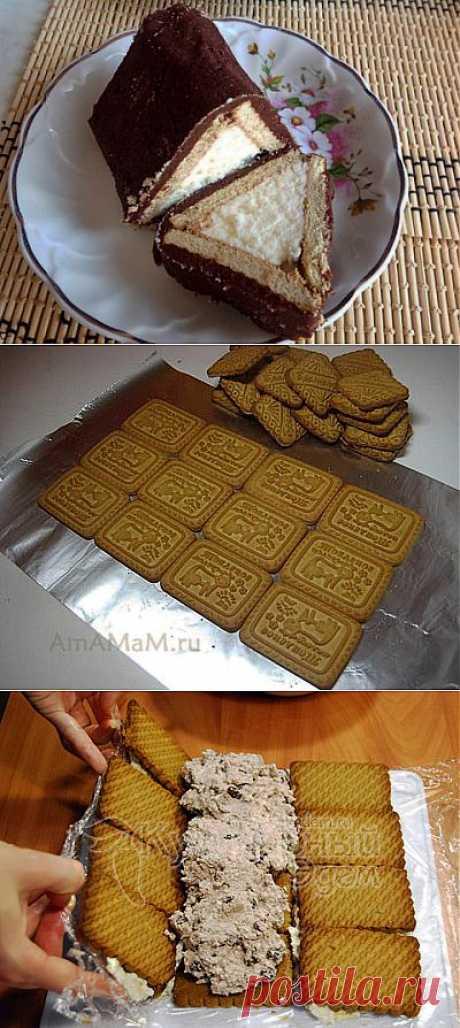 Творожный торт Домик из печенья без выпечки | ЖЕНСКИЙ МИР