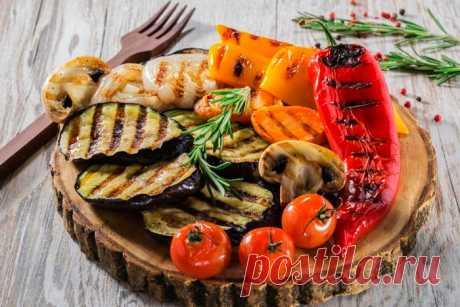 Овощи на гриле: 8 ароматных рецептов |