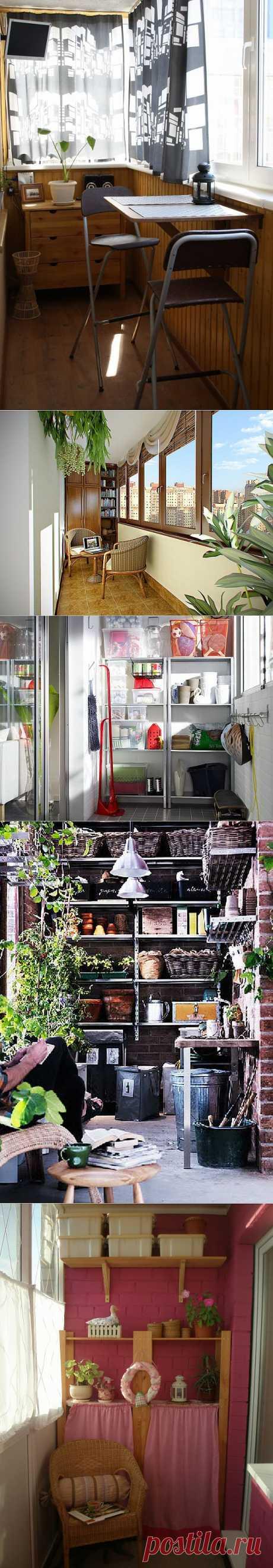 Шкафы и балконы - совмещаем несовместимое
