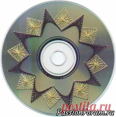 Идея для использования старых дисков