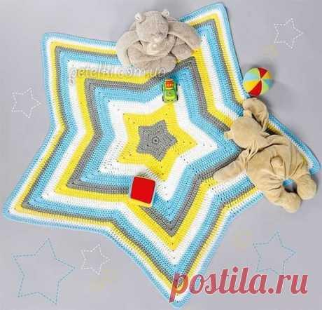 El tapiz pequeño la Estrella por el gancho