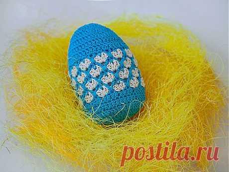 Пасхальное яйцо крючком | РУКОДЕЛИЕ
