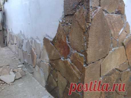 обработка лаком для камня