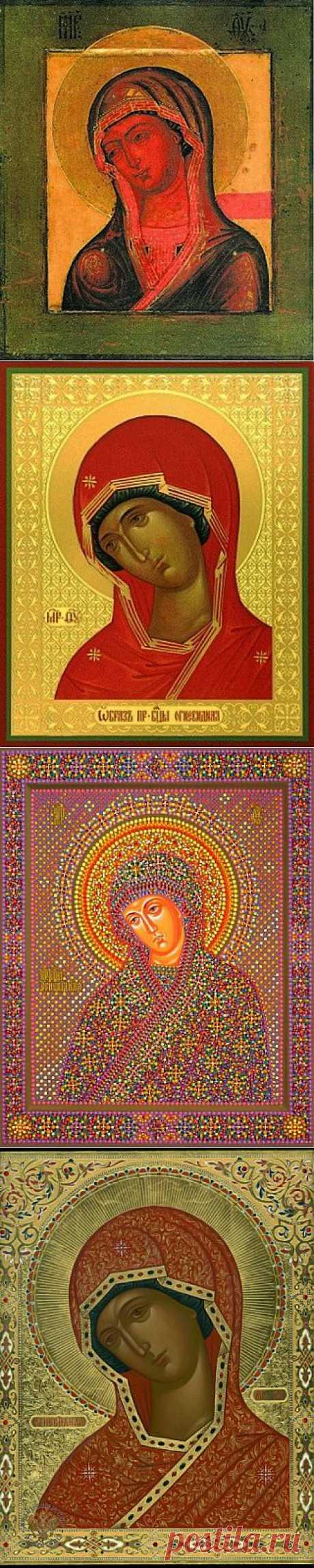 """23 февраля - иконы Божьей Матери """"Огневидная"""""""