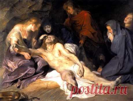 Оплакивание Христа - 1614. Питер Пауль Рубенс. Описание картины, скачать репродукцию.