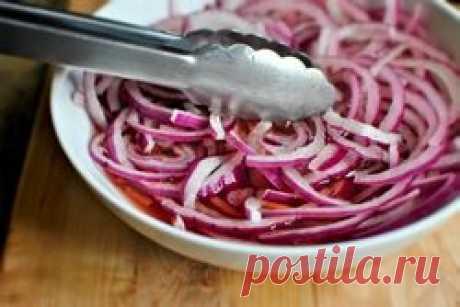 La cebolla marinada: vkusneyshaya el acopio para el invierno