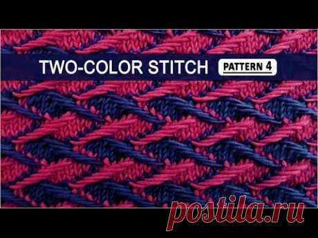 Two-color Stitch Pattern #4 - 3/22/2015