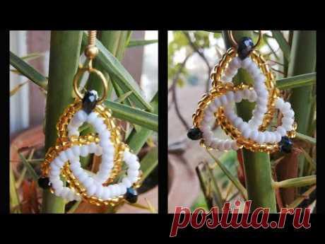 💝 Celtic Knot Earrings 💝 Beaded Earrings (0111)