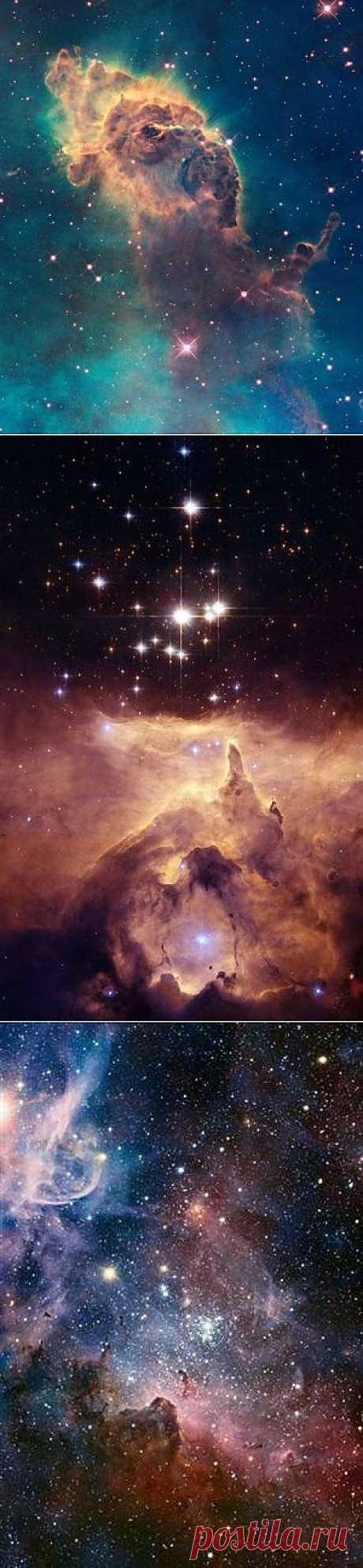 En las profundidades del cosmos