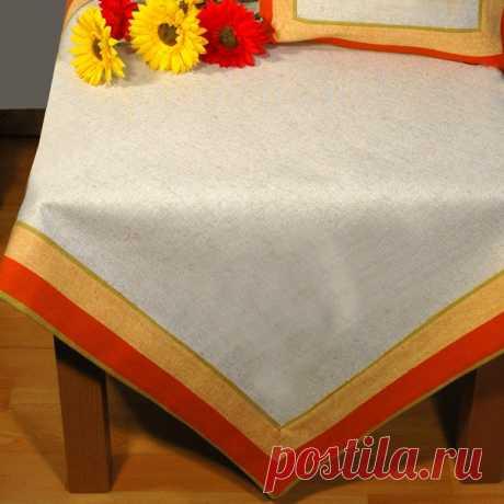 Основа для вышивания крестом или гладью, скатерть, 85x85 см