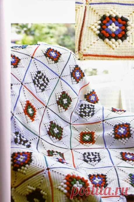 Beautiful knitted blankets