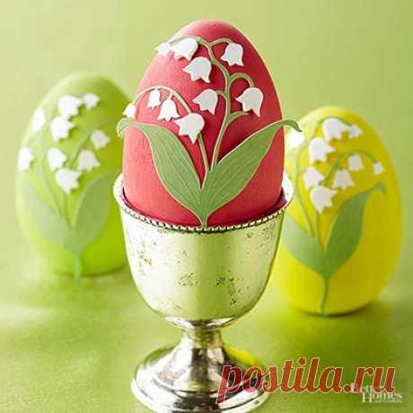 Как красиво украсить пасхальные яйца | Decor 4 House